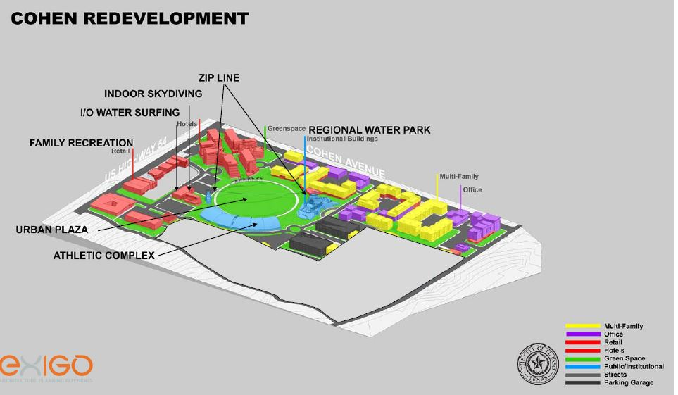 Cohen Stadium master plan.{&amp;nbsp;}Courtesy: City of El Paso<p></p>