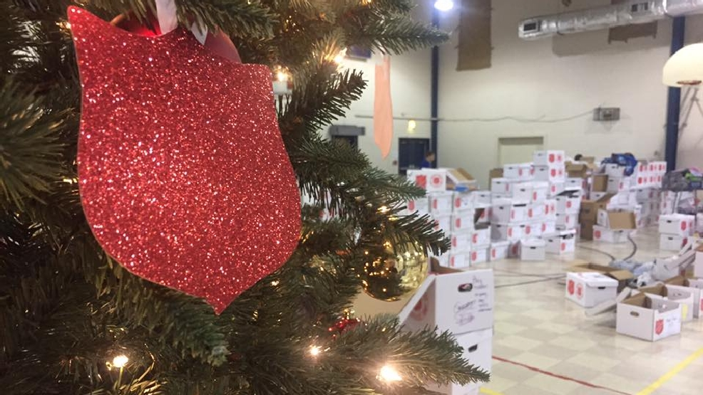 Salvation Army Provides Christmas Gifts To 'angels'