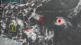 Depression forms, headed to Gulf