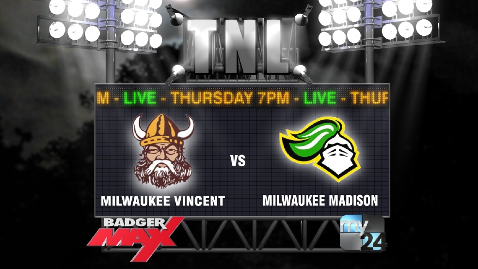 2015 Badger Max Thursday Night Lights Week 8 Milwaukee Vincent vs James Madison