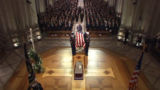 Funeral service held for former President George H.W. Bush at National Cathedral