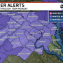 Winter Weather Advisory issued for DC area Sunday night into Monday morning