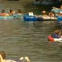 Did the can ban effect Spring Break turnout at Comal River?