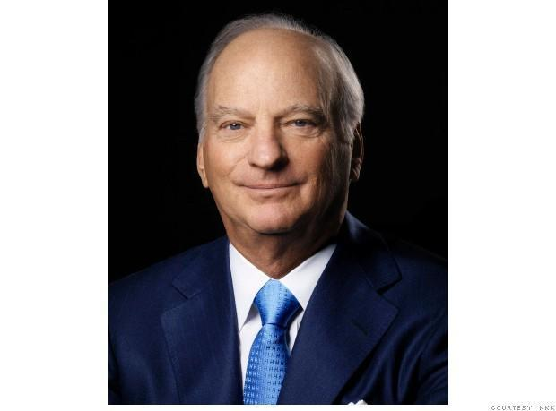 Executive title: Co-Chairman and Co-CEOCompany: KKR & Co.2012 total compensation: $35,029,805