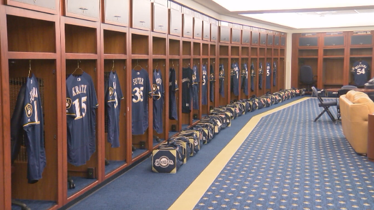Brewers pitchers and catchers report to Spring Training February 13th.{ }