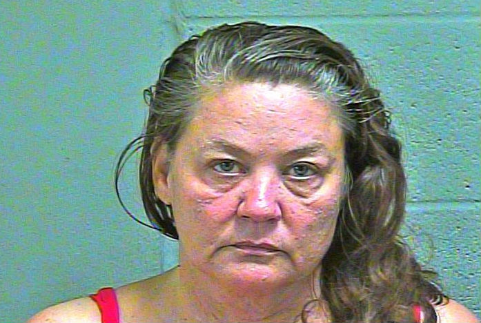 Zette Lea Madden, 52, was arrested Jan. 30 in Oklahoma City on complaints of robbery in the first degree, robbery with a dangerous weapon and malicious injury and destruction of property. (Oklahoma County Jail)