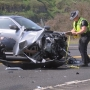 Driver involved in Hwy-12 & 95 crash swerves to avoid a T-bone collision