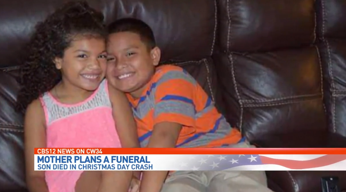 Mother recalls son killed in Christmas Day crash. (WPEC)