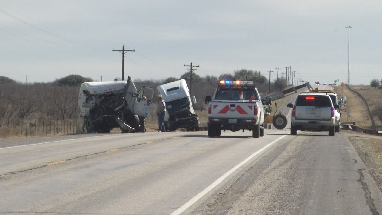 Two 18-wheelers collided in Callahan County early Monday. The driver of one of the 18-wheelers, 32-year-old Jonah Wayne Neal of Montgomery, was pronounced dead at the scene.
