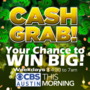 CBS Austin Cash Grab Code of the Morning Contest