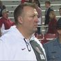 Bielema narrows focus in face of job security questions