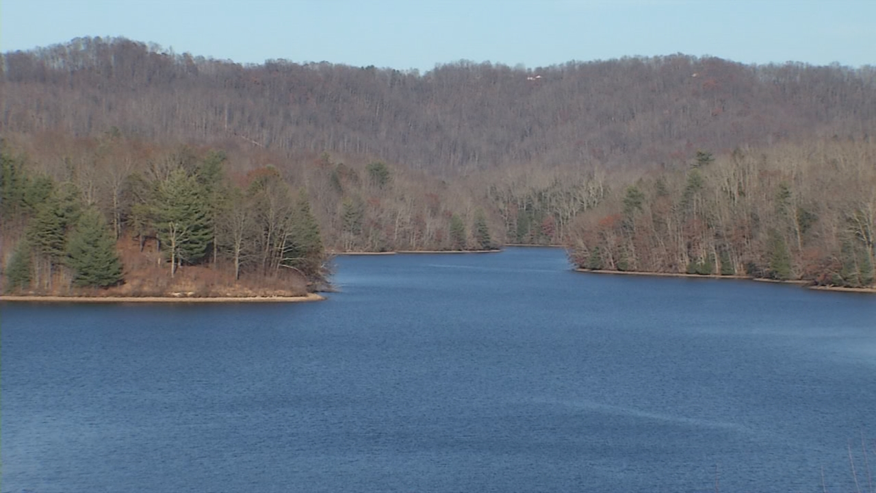 The goal is to eventually make Stephens Lake a trophy trout destination for anglers. (WCHS/WVAH)<p></p>