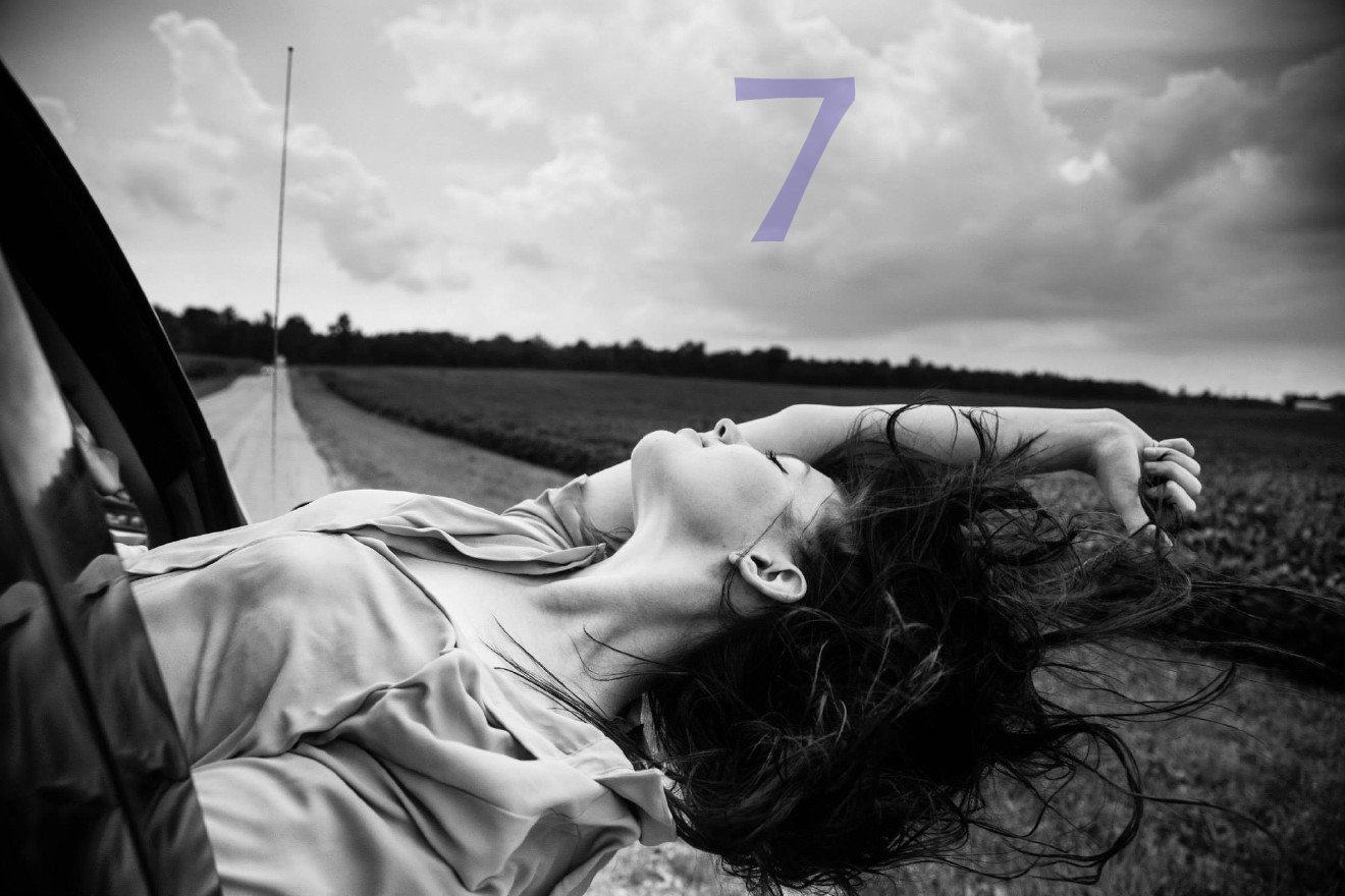 #7 - The Windblown Project is all about capturing that blissful moment of your hair whipping in the wind, and it was started by a 19-year-old college student. / Image courtesy of Annie Noelker Photography
