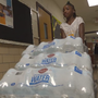 PGCPS 6th grader collects water for hurricane victims in Puerto Rico