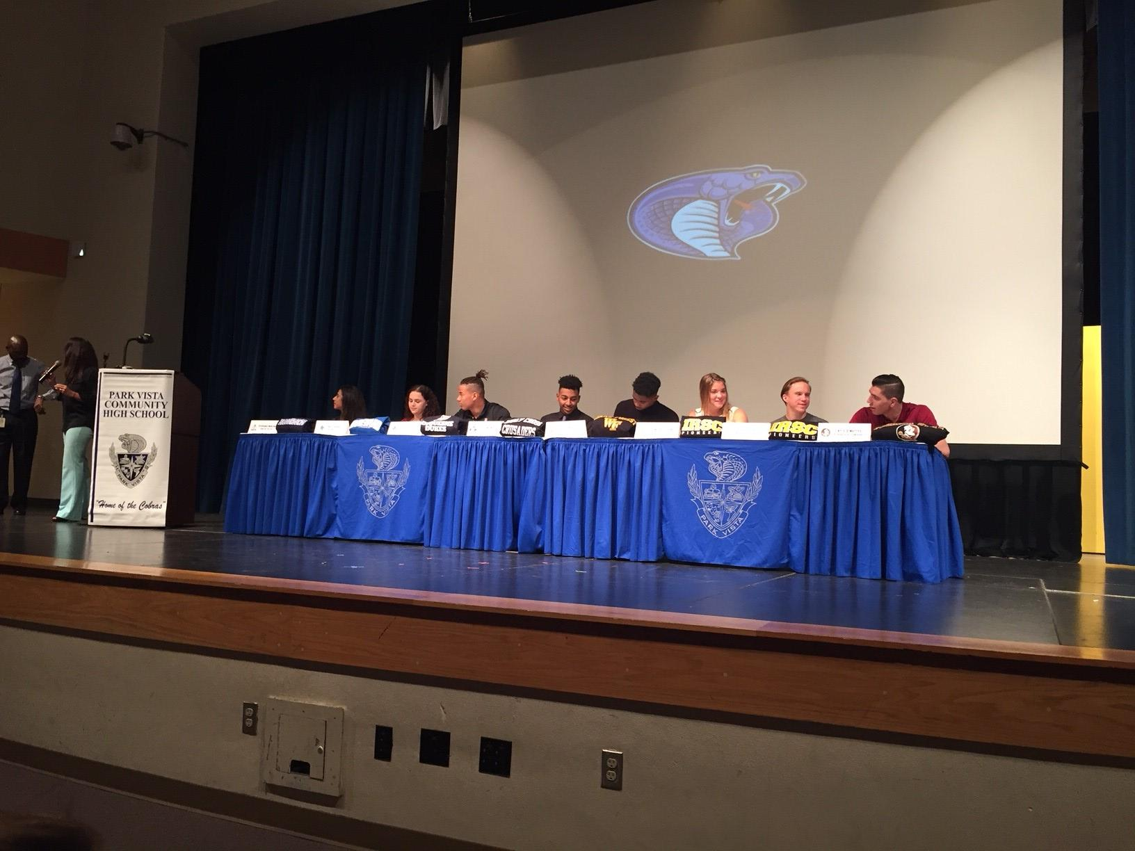 Park Vista Signing Day<p></p>