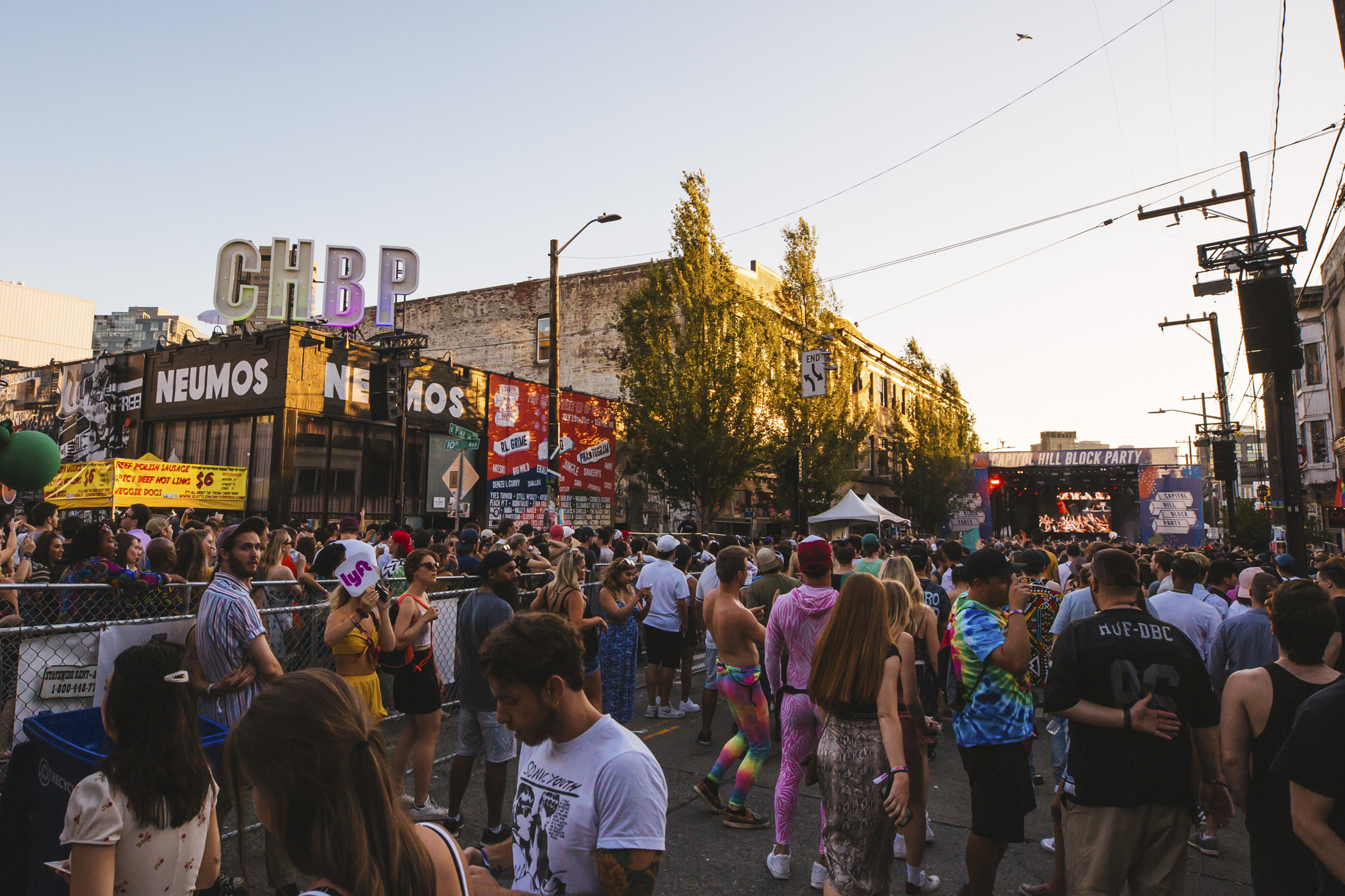 Over 20,000 people are expected to attend Capitol Hill Block Party this year! The annual three-day music festival in the heart of the Capitol Hill neighborhood has six stages, indoor and outdoor venues, multiple beer gardens and VIP lounges. Headliners include Lizzo, RL Grime and Phantogram - as well as promising local talent and performers across a variety of genres. (Image: Sunita Martini / Seattle Refined)