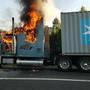 Officials: Tractor trailer catches fire on Route 460