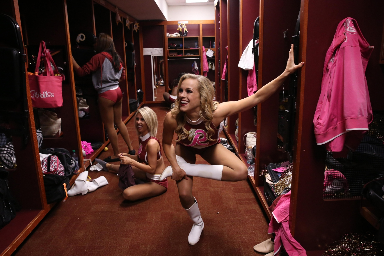 Behind the scenes with the first ladies of football (Amanda Andrade-Rhoades/DC Refined)