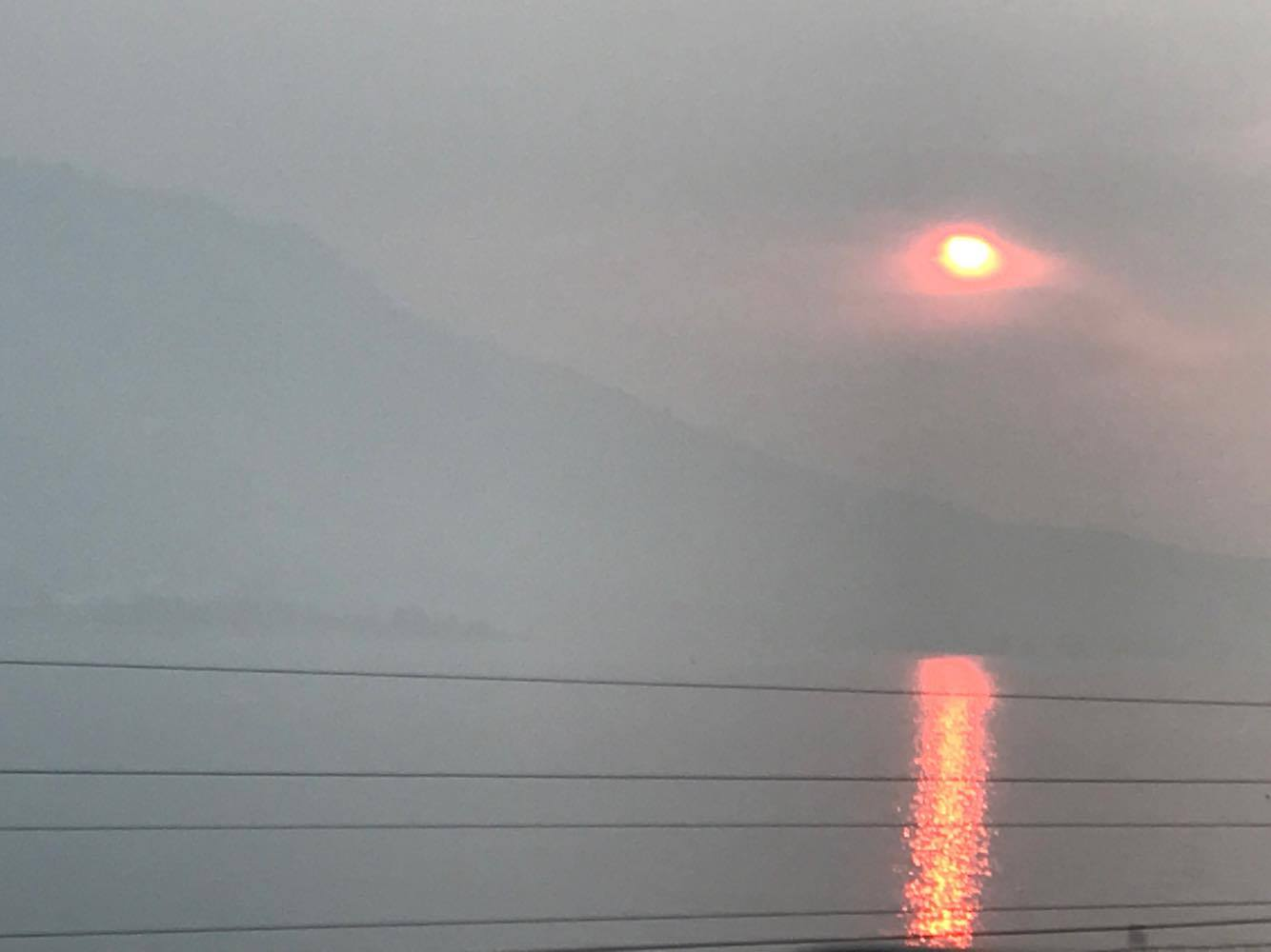 Smoke from Eagle Creek fire - photo by Kaylee Towle