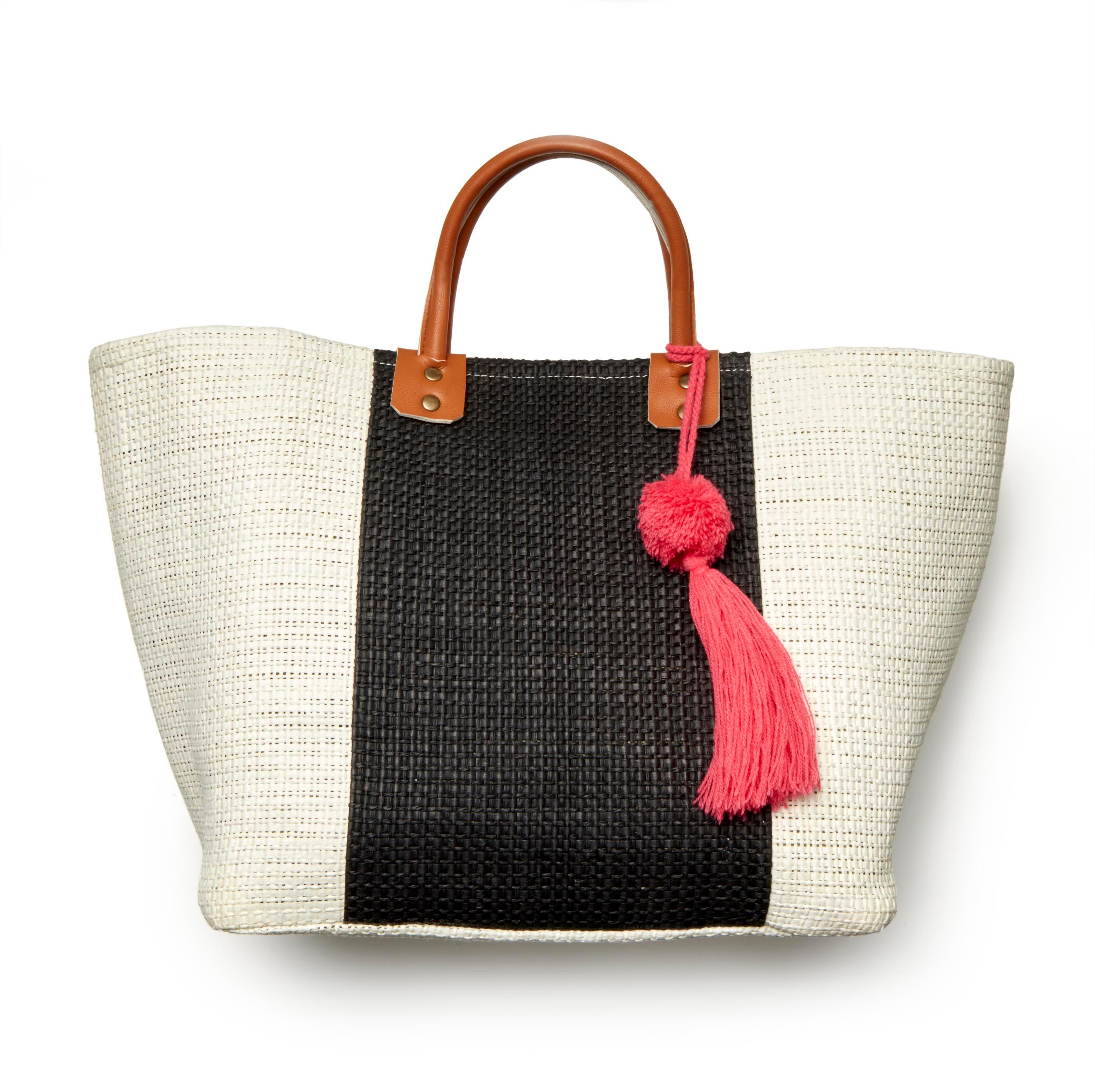 Lord & Taylor Tasseled Woven Market Tote // Price: $68 // Purchase at Lord & Taylor stores // (Photo: Lord & Taylor)