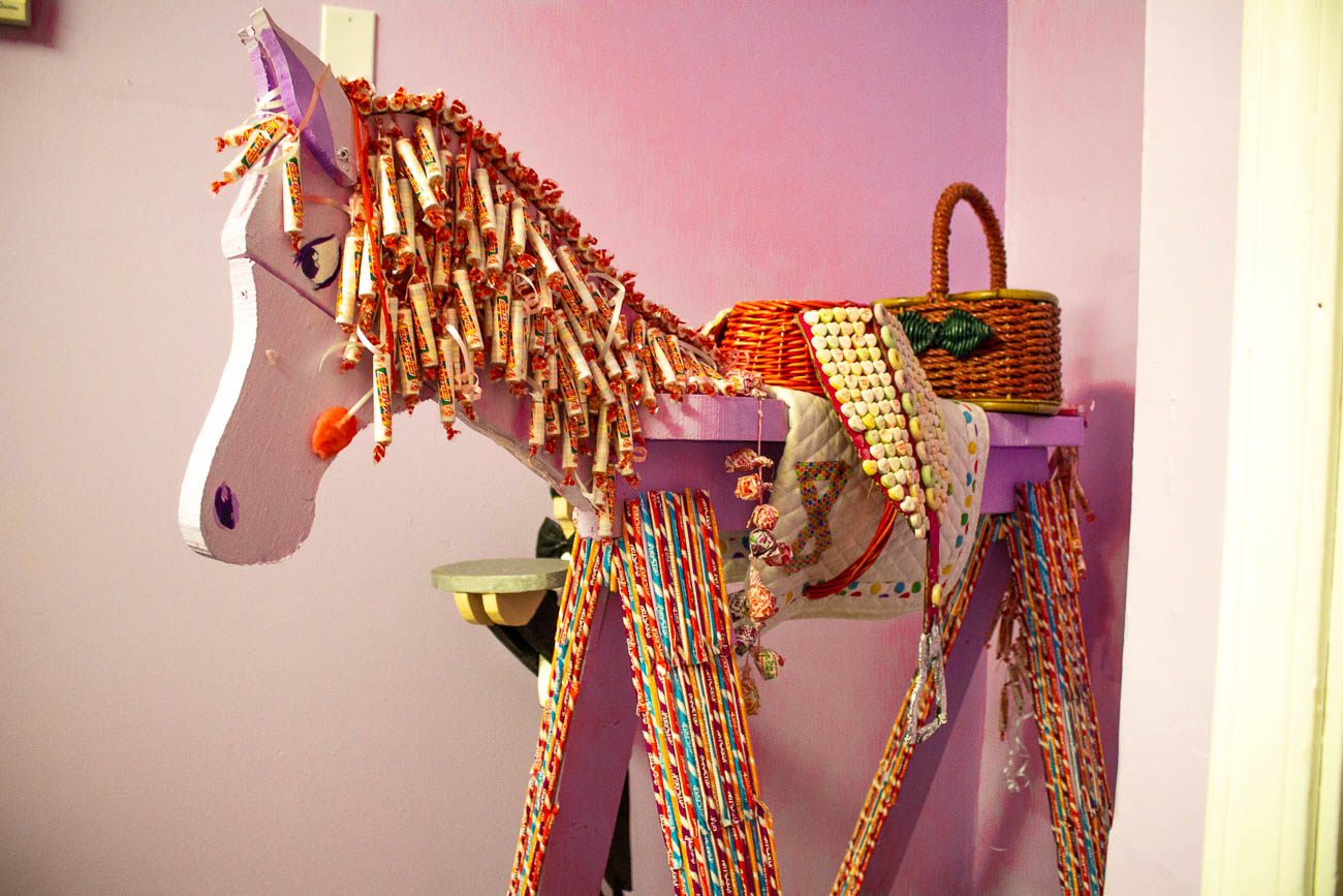 This candy horse can be found at 2 Ladies and a Kettle/Midway Sweet Tooth{&amp;nbsp;}/ Image: Katie Robinson, Cincinnati Refined // Published: 10.23.18<p></p>