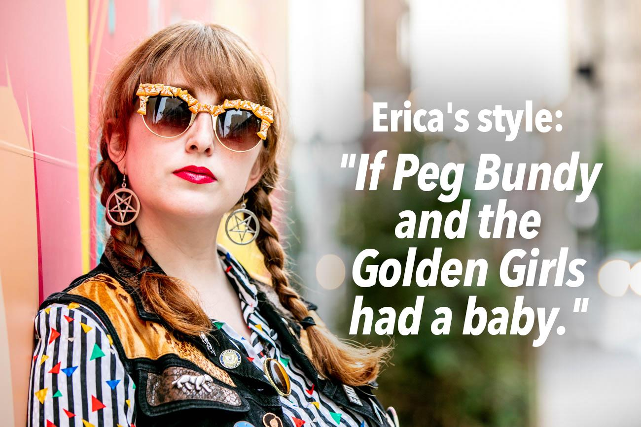 "CINCY REFINED: What spurred your love of vintage clothing? / TURER: ""I've just always had a love for the loud and different pieces out there. I remember once, for an audition, the producers of the show asked me to describe my style in one sentence, and I immediately responded with... 'If Peg Bundy and the Golden Girls had a baby.'"" / Image: Amy Elisabeth Spasoff // Published: 5.25.18"