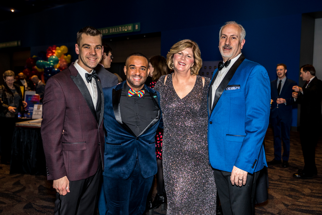 Eric Anderson, Jordan Young, Rick and Elizabeth Kennedy / Image: Catherine Viox