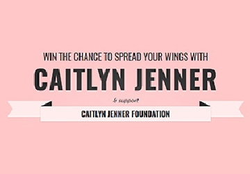 Win the Chance to Spread Your Wings with Caitlyn Jenner!