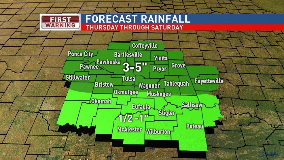 Heavy Rain Possible Thursday & Friday