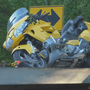 Motorcyclist airlifted to Syracuse after crash