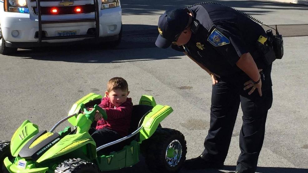 Police traffic stop cute stunner paisley